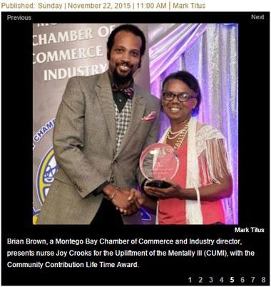 Joy Crooks - Awarded